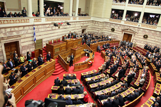 Hellenic_Parliament-MPs_swearing_in